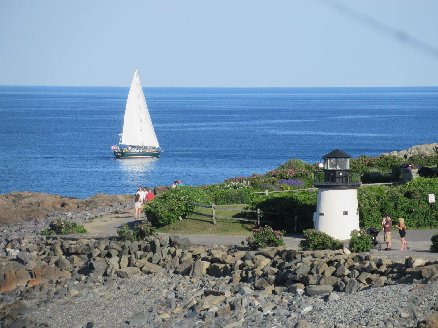 Lighthouse & The Gift Sailboat